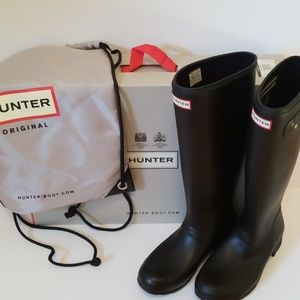 Hunter Original Tour Tall Boots - Like New